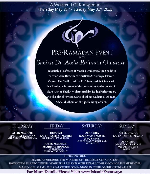 Pre Ramadan event